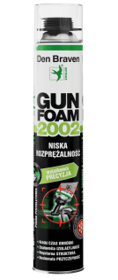 Budowa Piana pistoletowa Den Braven Gunfoam 2002 750 ml