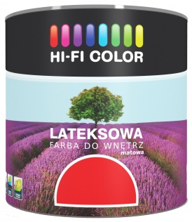 Hi-Fi Color Matowa farba lateksowa Hi-Fi Color turkus ciemny 2,5 l