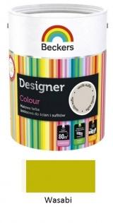 Beckers Designer Colour Matowa farba lateksowa Designer Colour wasabi 2,5 l